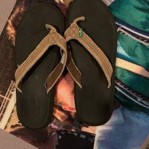 Sanuk sandals. Hardly worn size 5-6